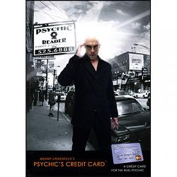 Psychic's Credit Card by Menny Lindenfeld - Trick