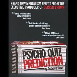Psycho Quiz Prediction by Anthony Owen - Trick