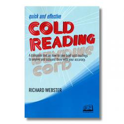 Quick and Effective Cold Reading by Richard Webster - Book