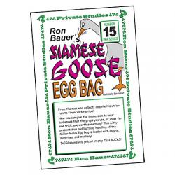 Ron Bauer Series: #15 - Siamese Goose Eggbag - Book