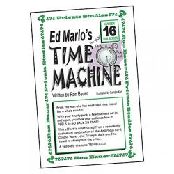 Ron Bauer Series: #16 - Ed Marlo's Time Machine - Book
