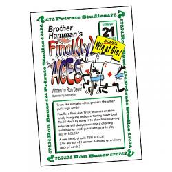 Ron Bauer Series: #21 - Brother Hamman's Final(ly) Aces - Book