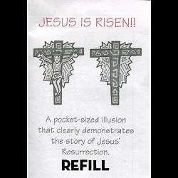 Jesus is Risen refill box by Top Hat Magic - Trick
