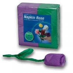 Napkin Rose - Refill (Purple) by Michael Mode - Trick