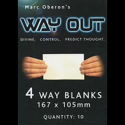 Refill for Way Out XII (4way) by Marc Oberon - Trick