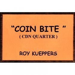 Coin Bite (Canadian Quarter) - Trick