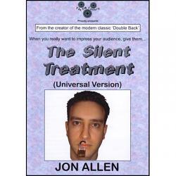 Silent Treatment (Universal Version) by Jon Allen - Trick