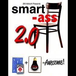Smart Ass 2.0 (Blue with bonus pack) by Bill Abbott