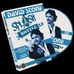 Splash Bottle 2.0 (DVD and Gimmicks) by David Stone & Damien Vappereau - Trick