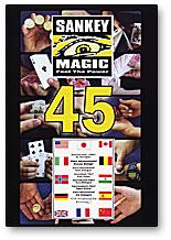 45 DVD by Jay Sankey Magic