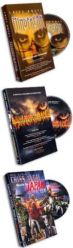 Criss Angel DVD's