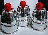 The Cups and Balls - Professional Alluminium
