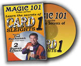 Card Sleights DVD Magic 101