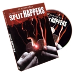 Split Happens 1/2 dollar version with DVD Totorial Combo