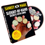 Sleight Of Hand Secrets With Coins DVD