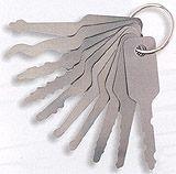 Set of 10 LARGE Key Jigglers