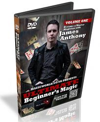 Ultimate Beginner's Magic DVD Vol1 with James Anthony