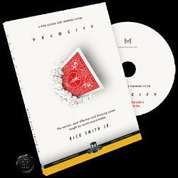 Velocity : High-Caliber Card Throwing System by Rick Smith Jr. - DVD