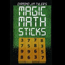 Magic Math Sticks (Wooden) by Diamond Jim Tyler - Trick