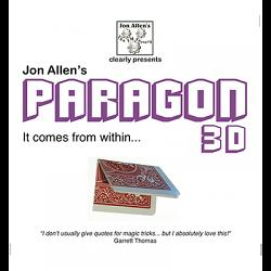 Paragon 3D (DVD and Gimmick) by Jon Allen - Trick