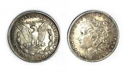 Magnetic Morgan Dollar Replica (1 Coin) by Shawn Magic