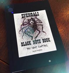 Blank Svengali Notebook (Small) by Alan Wong - Trick