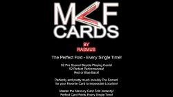 MCF Cards (Red) by Rasmus - Trick