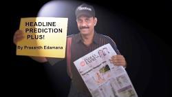 Headline Prediction Plus by Prasanth Edamana video DOWNLOAD