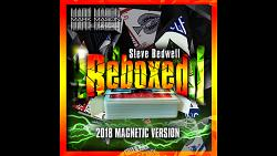 Reboxed 2018 Magnetic Version Red (Gimmicks and Online Instructions) by Steve Bedwell and Mark Mason - Trick