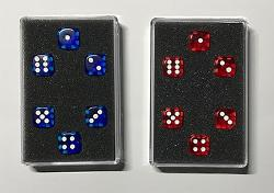 Perfect Prediction Dice Red (6 Dice) by Kreis - Trick