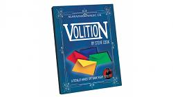 Volition (DVD and Gimmicks) by Steve Cook Magic Trick