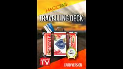 Travelling Deck Card Version Red (Gimmick and Online Instructions) by Takel - Trick