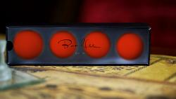 """Perfect Manipulation Balls (2"""" Red) by Bond Lee - Trick"""