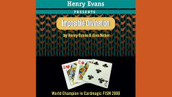 Imposible Divination (Gimmicks and DVD) by Henry Evans and Alex Nebur - Trick