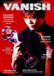 VANISH Magazine August/September 2015 - Shin Lim eBook DOWNLOAD