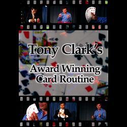 Award Winning Card Routine Tony Clark - DOWNLOAD
