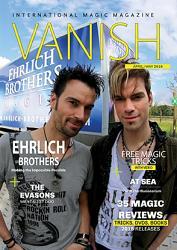 VANISH Magazine April/May 2016 - Ehrlich Brothers eBook DOWNLOAD
