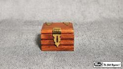 Quarter Go Box (Teak) by Mr. Magic - Trick