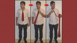 Comedy Necktie (Red) by Nahuel Olivera - Trick