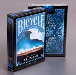 """Bicycle Natural Disasters """"Tsunami"""" Playing Cards by Collectable Playing Cards"""