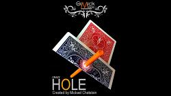 CRAZY HOLE Red by Mickael Chatelain