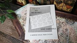 Feats of Memory by Don Carroll - Book